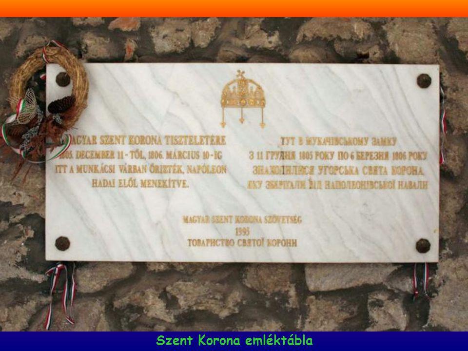 Szent Korona emléktábla