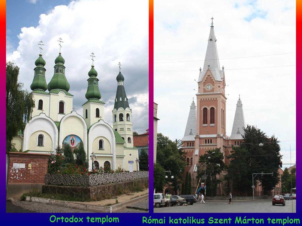 Ortodox templom Római katolikus Szent Márton templom