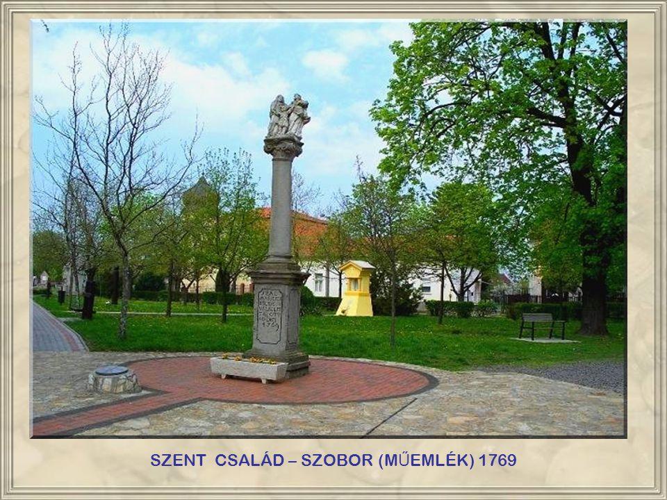SZENT CSALÁD – SZOBOR (MŰEMLÉK) 1769