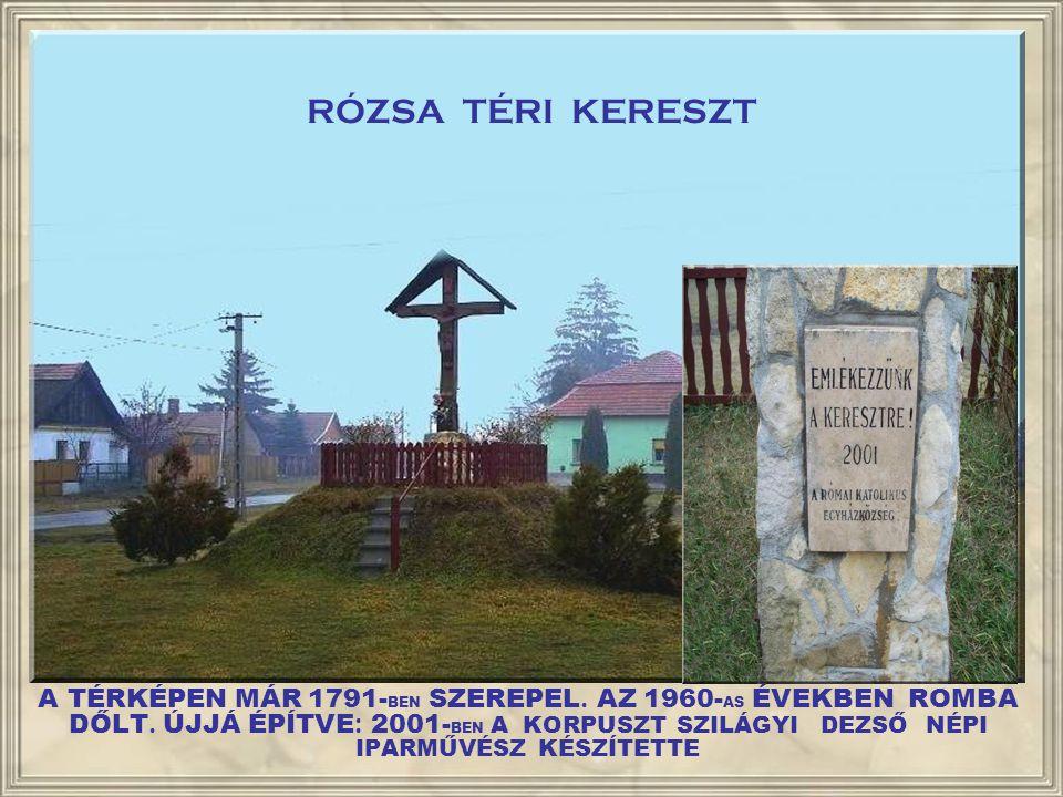 RÓZSA TÉRI KERESZT