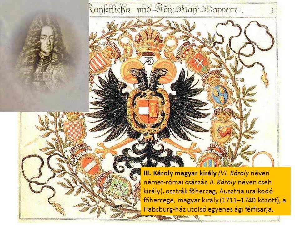 III. Károly magyar király (VI. Károly néven német-római császár, II