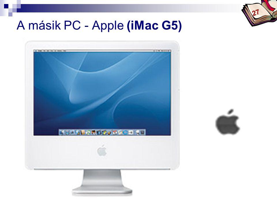 A másik PC - Apple (iMac G5)