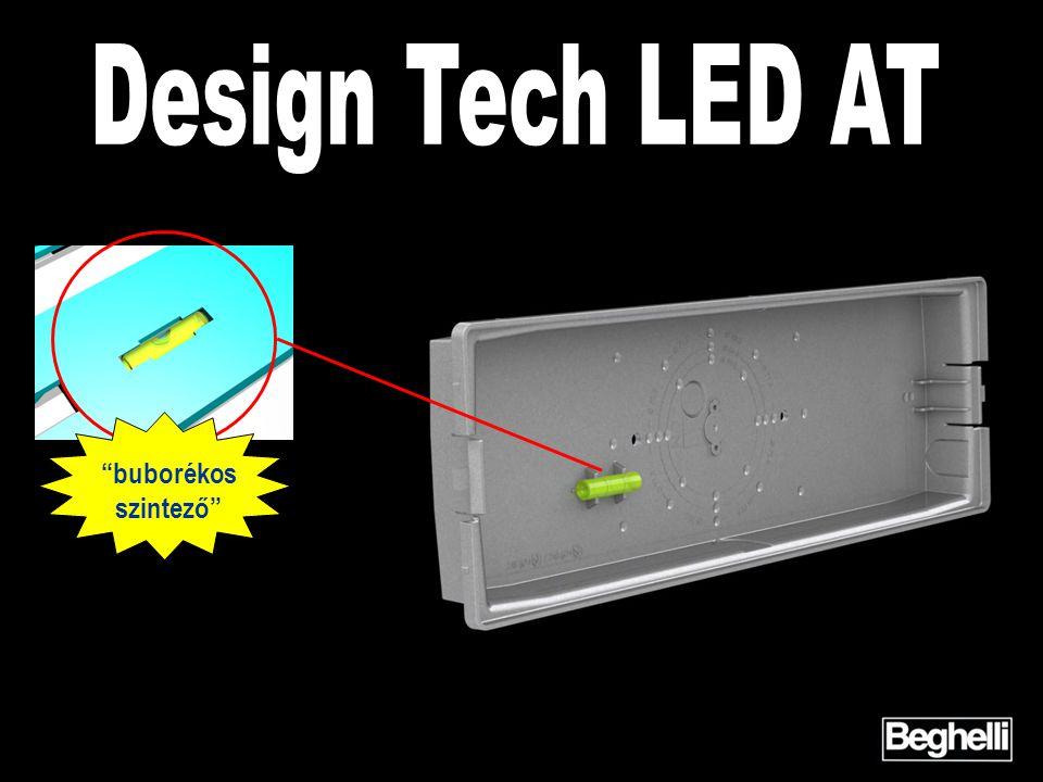 Design Tech LED AT buborékos szintező