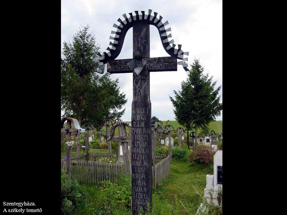 Szentegyháza. A székely temető