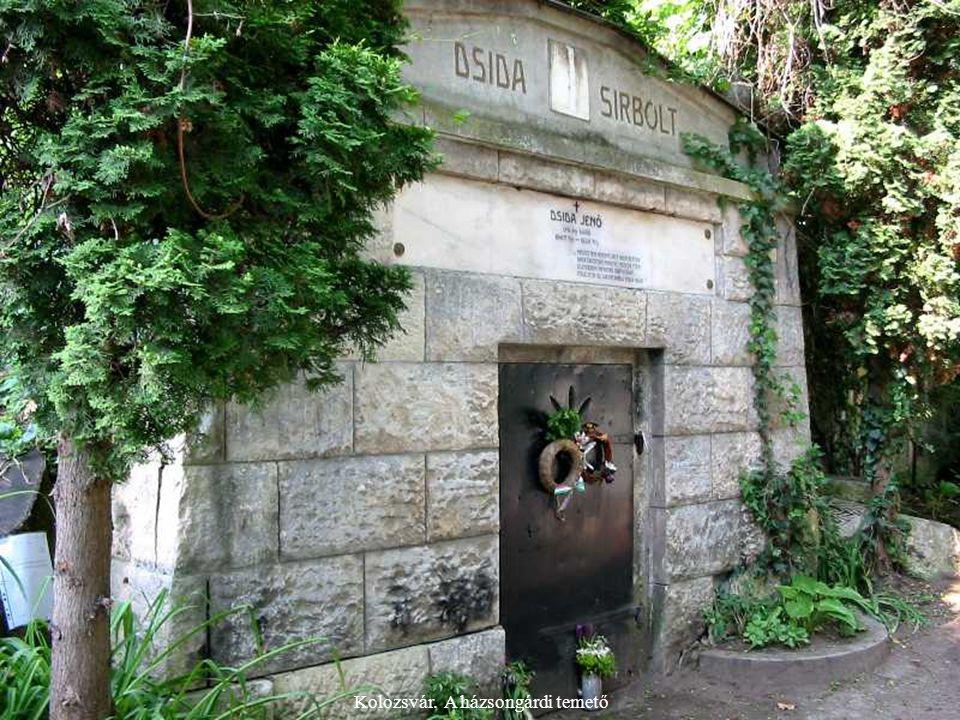 Kolozsvár. A házsongárdi temető