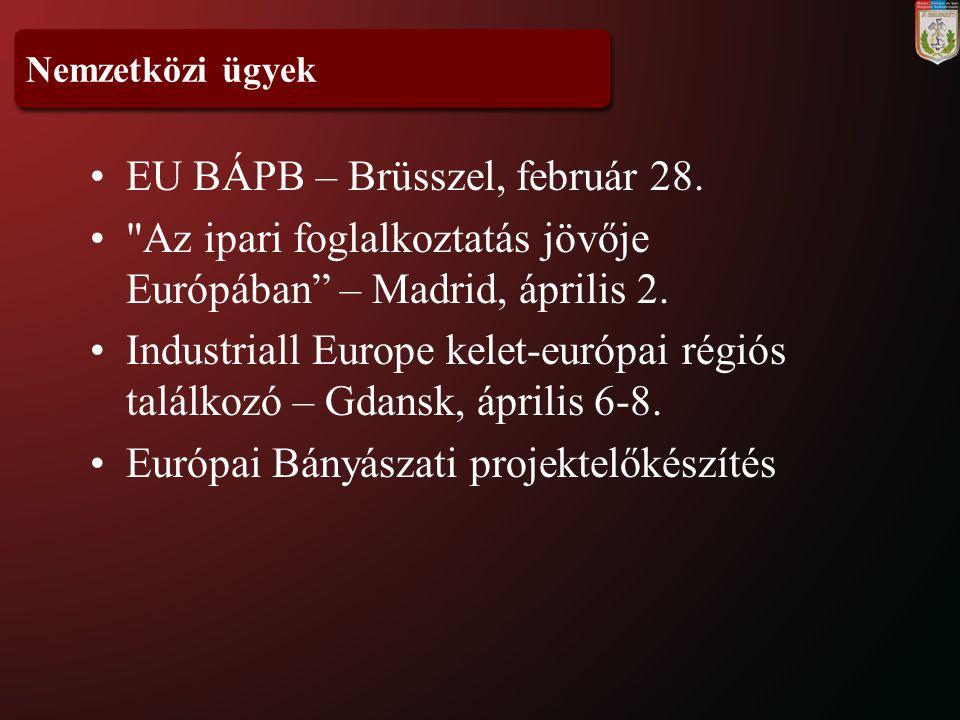 EU BÁPB – Brüsszel, február 28.