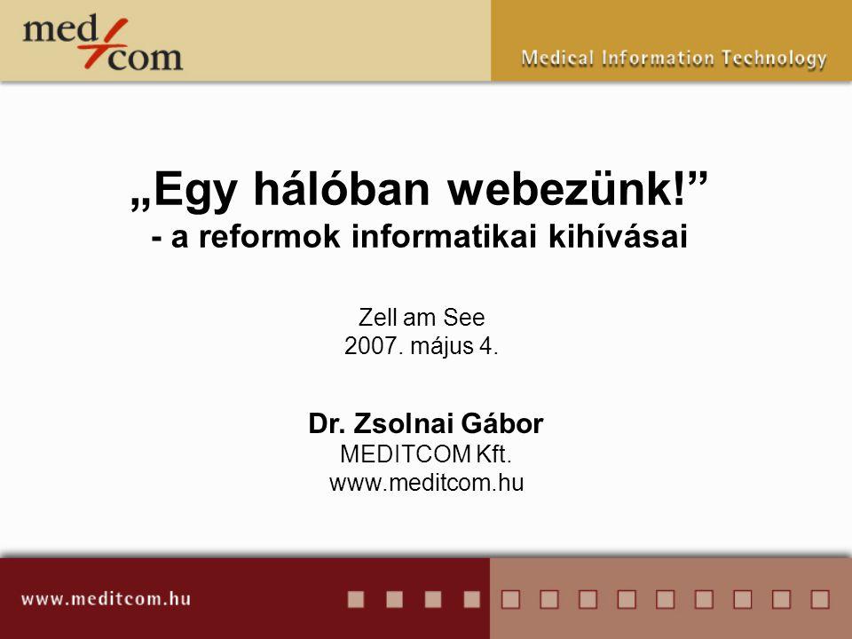 """""""Egy hálóban webezünk! - a reformok informatikai kihívásai"""