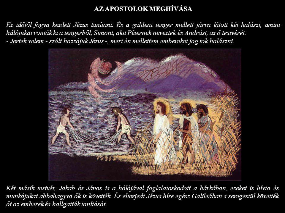 AZ APOSTOLOK MEGHÍVÁSA