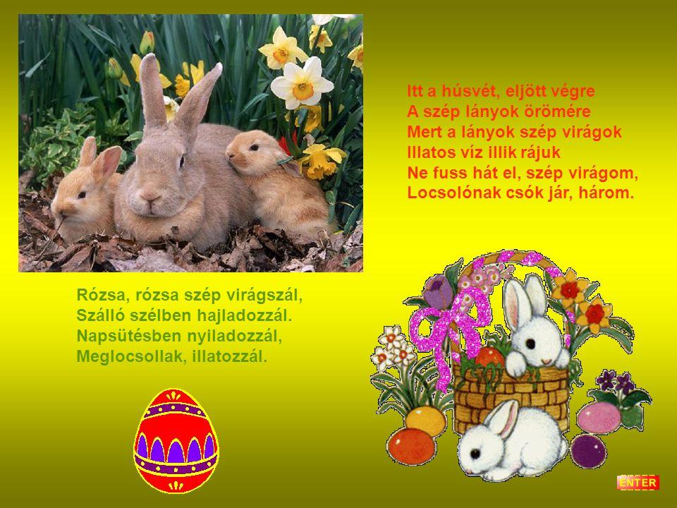 Itt a húsvét, eljött végre