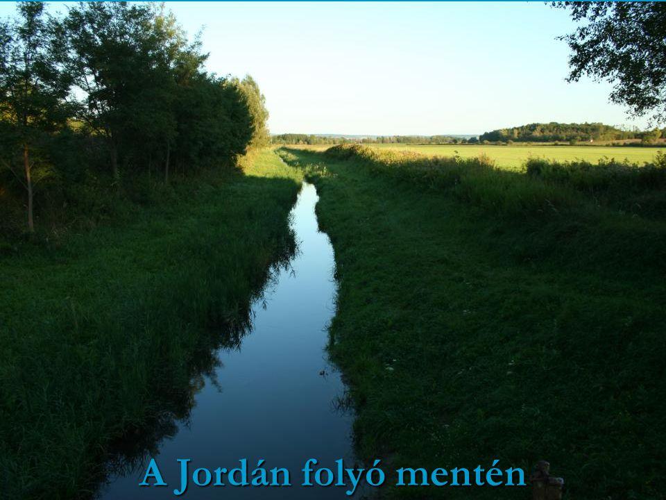 A Jordán folyó mentén