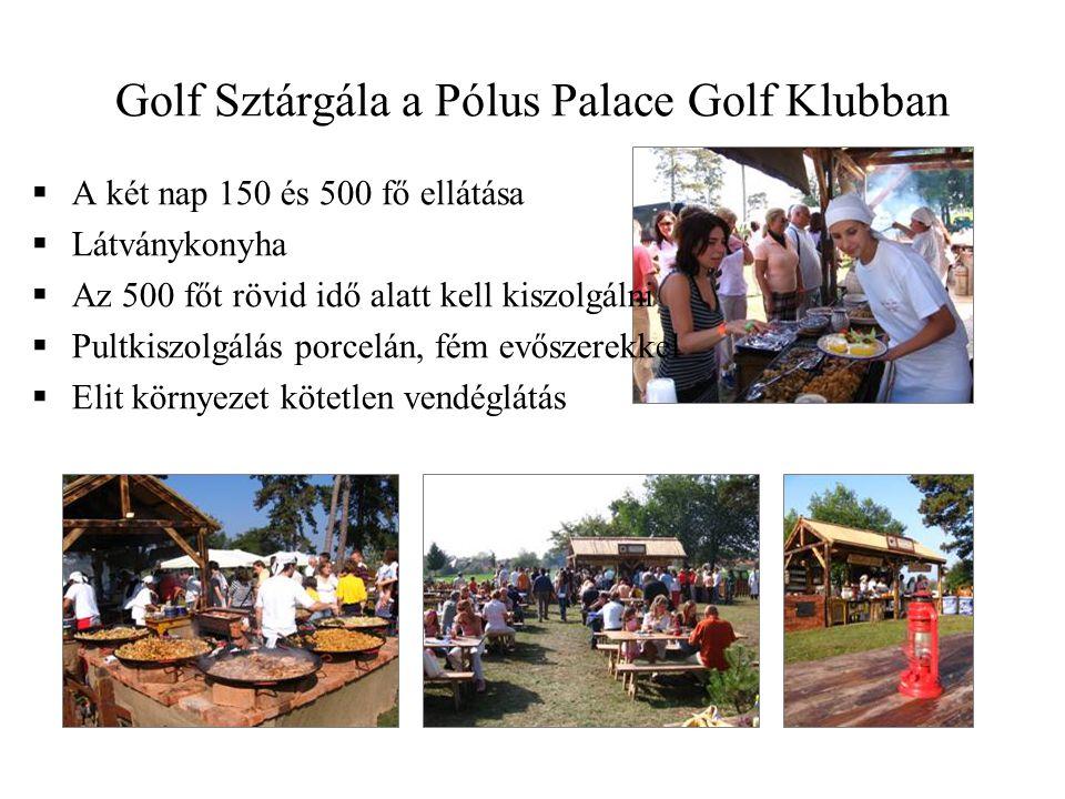 Golf Sztárgála a Pólus Palace Golf Klubban