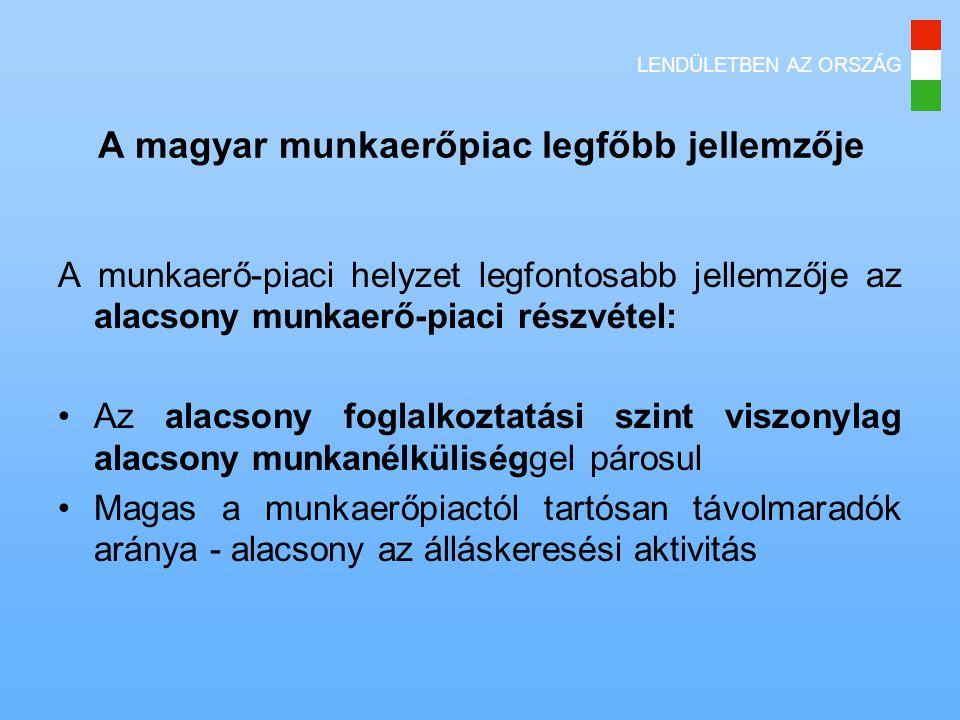 A magyar munkaerőpiac legfőbb jellemzője