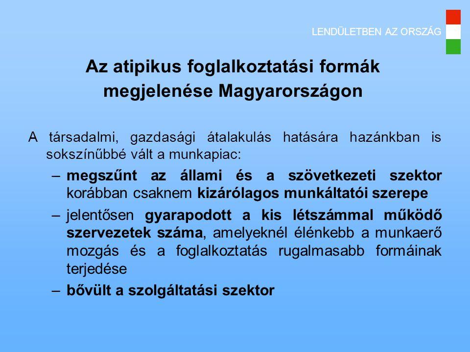 Az atipikus foglalkoztatási formák megjelenése Magyarországon