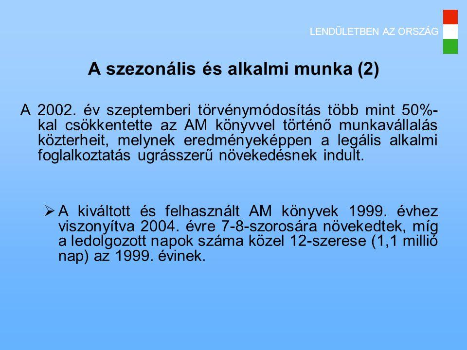 A szezonális és alkalmi munka (2)