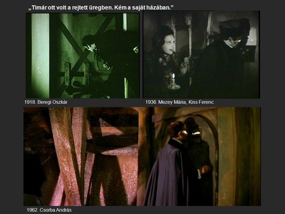 """""""Timár ott volt a rejtett üregben. Kém a saját házában."""