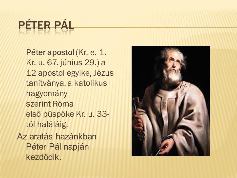 Péter apostol (Kr. e. 1. – Kr. u. 67. június 29