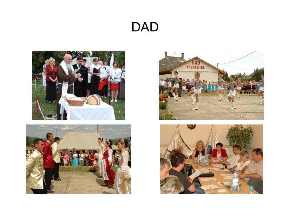 DAD AUGUSZTUS 20-I ÜNNEPÉLY KÉTSZER FALUNAP