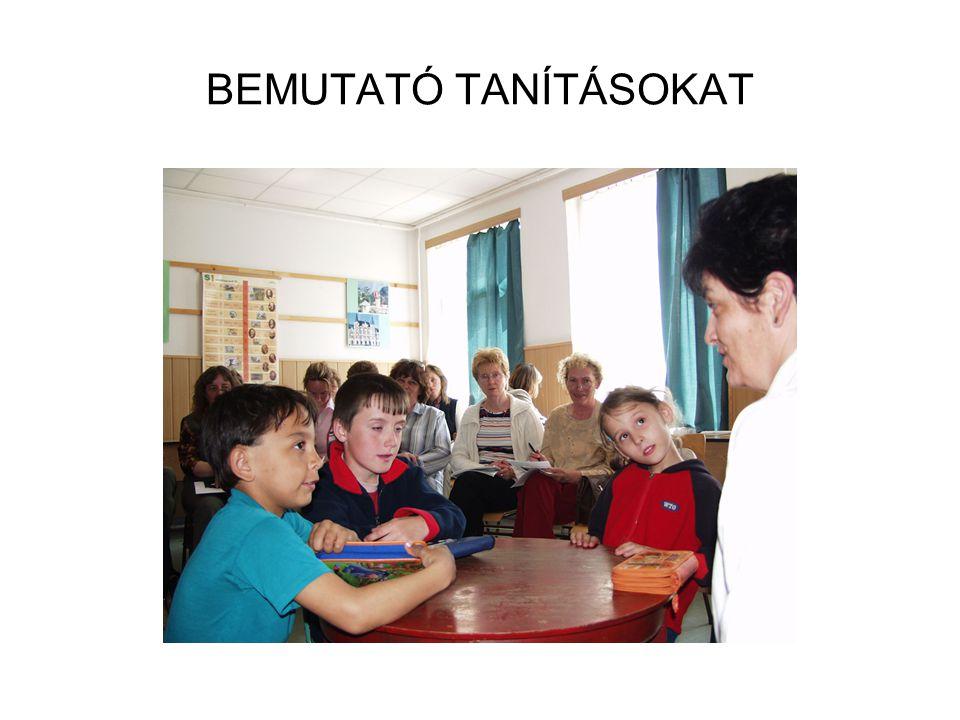 BEMUTATÓ TANÍTÁSOKAT