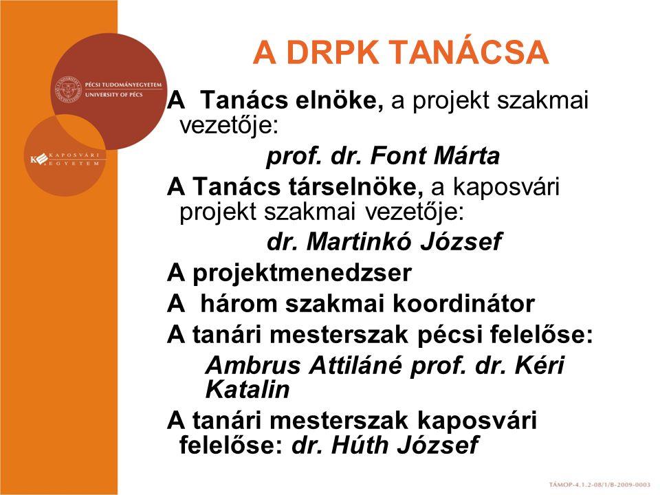 A DRPK TANÁCSA