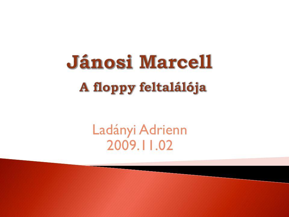 Jánosi Marcell A floppy feltalálója