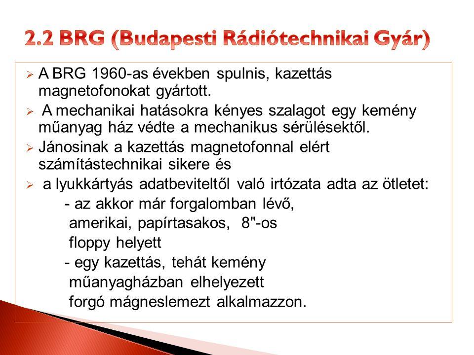 2.2 BRG (Budapesti Rádiótechnikai Gyár)