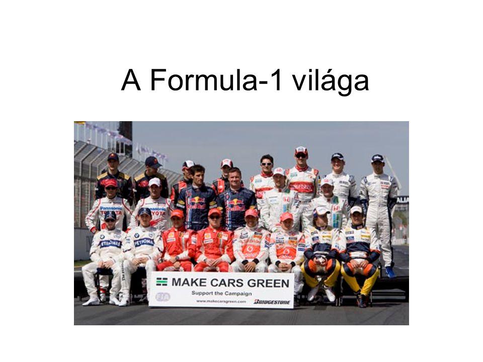 A Formula-1 világa
