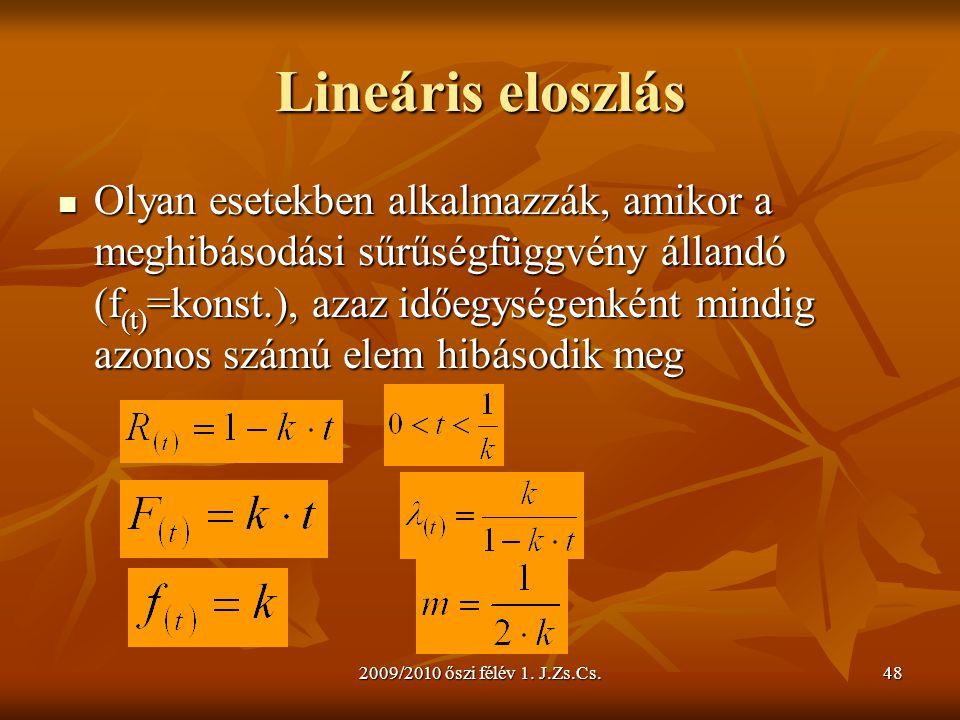Lineáris eloszlás