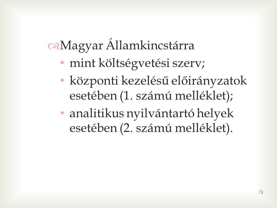 Magyar Államkincstárra