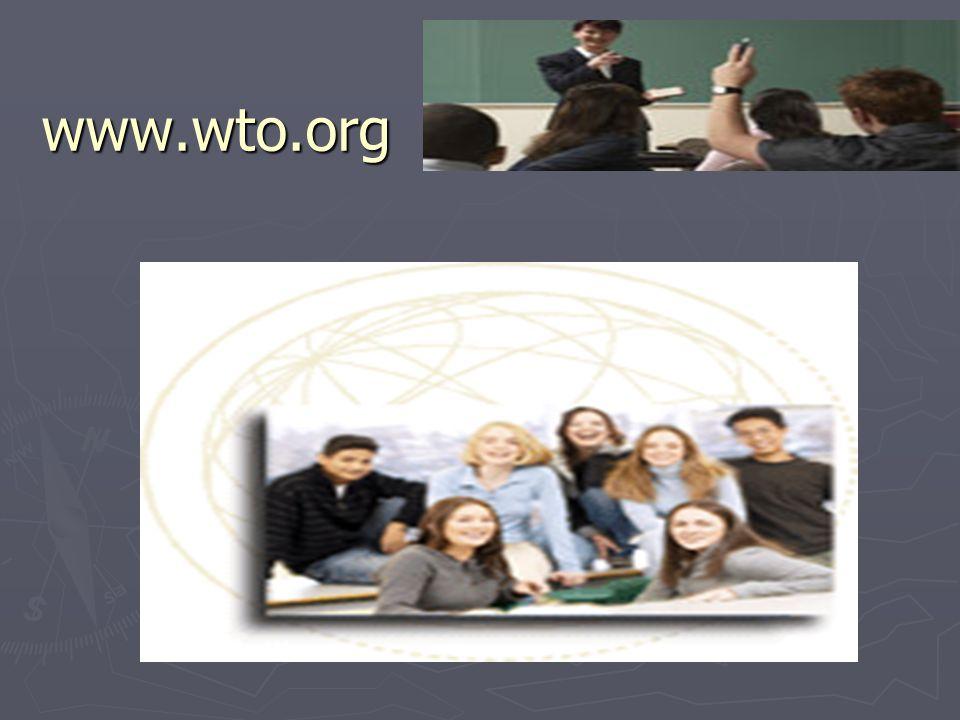 www.wto.org WTO distance learning – www.wto.com űűűűű www.wto.org