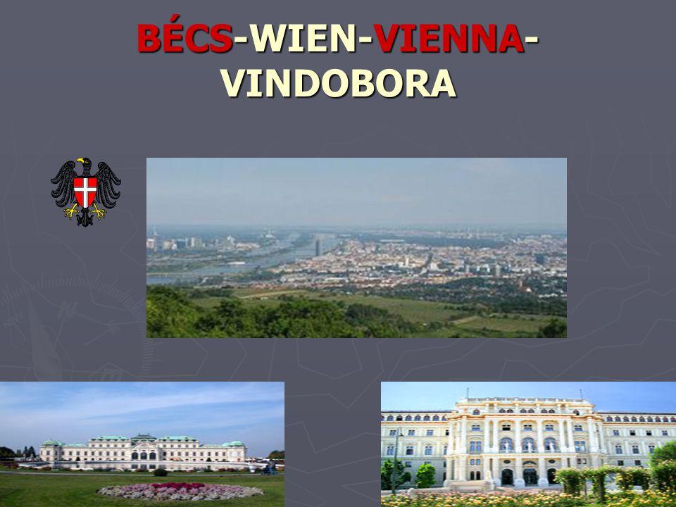 BÉCS-WIEN-VIENNA-VINDOBORA