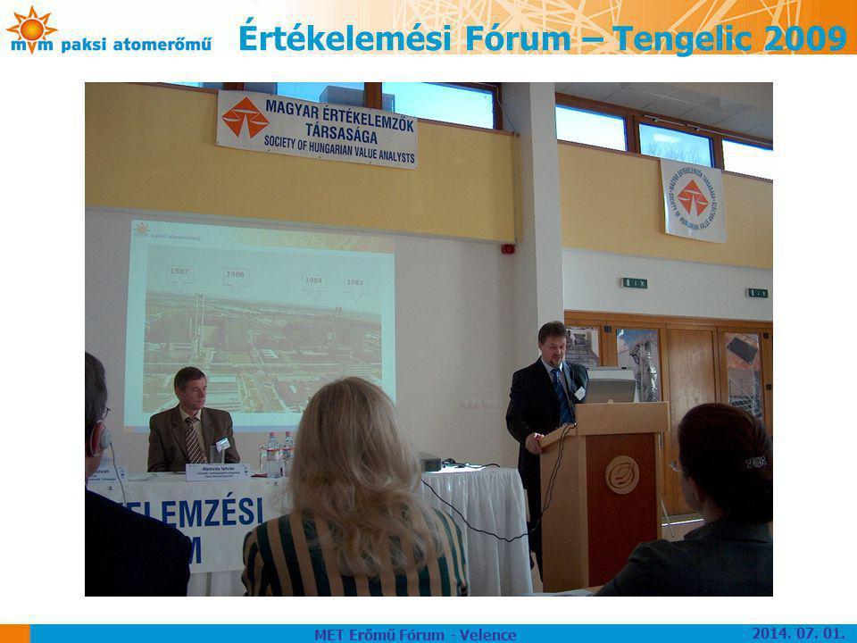 Értékelemési Fórum – Tengelic 2009