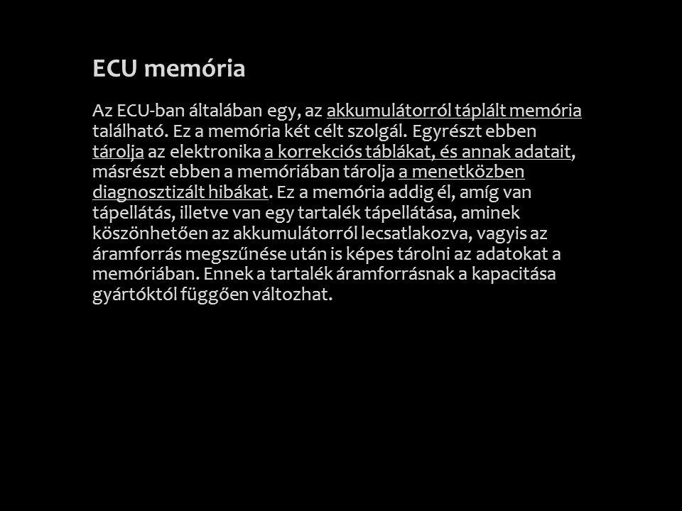 ECU memória