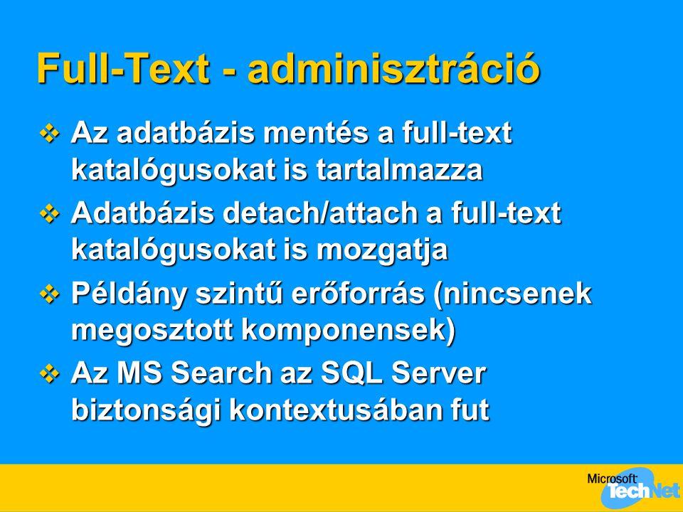 Full-Text - adminisztráció