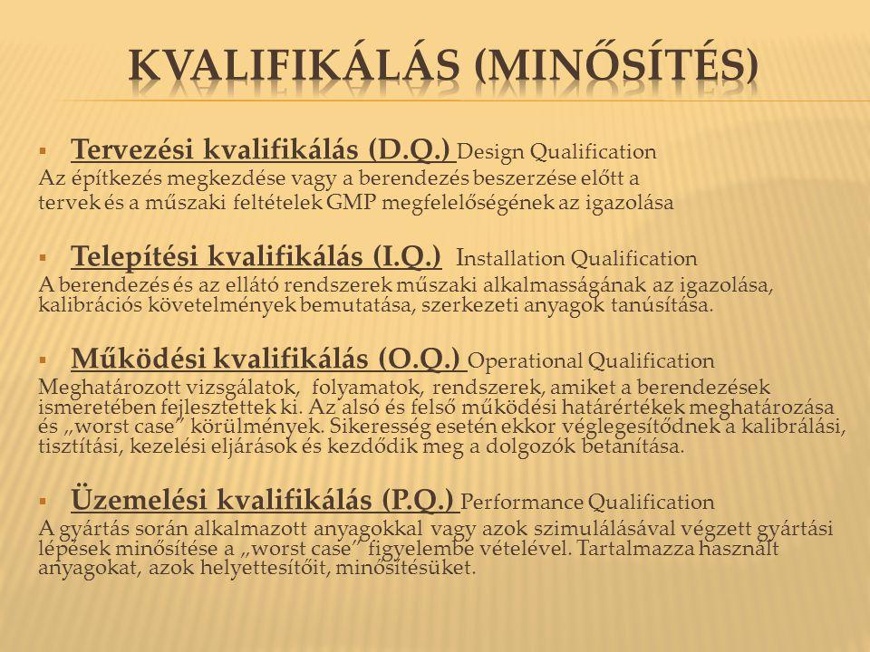 Kvalifikálás (minősítés)