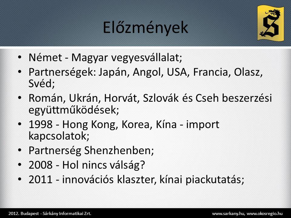 Előzmények Német - Magyar vegyesvállalat;