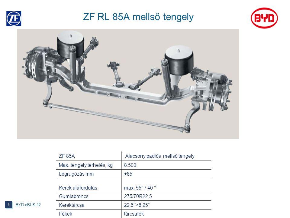 ZF RL 85A mellső tengely ZF 85A Alacsony padlós mellső tengely