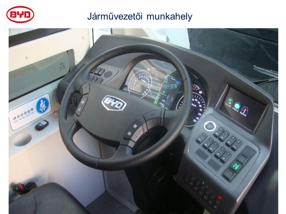 Járművezetői munkahely
