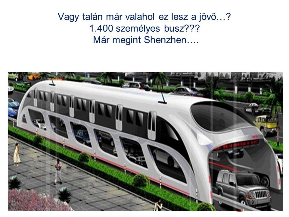 Vagy talán már valahol ez lesz a jövő…. 1. 400 személyes busz