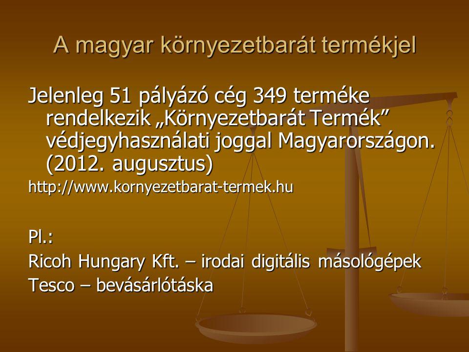 A magyar környezetbarát termékjel