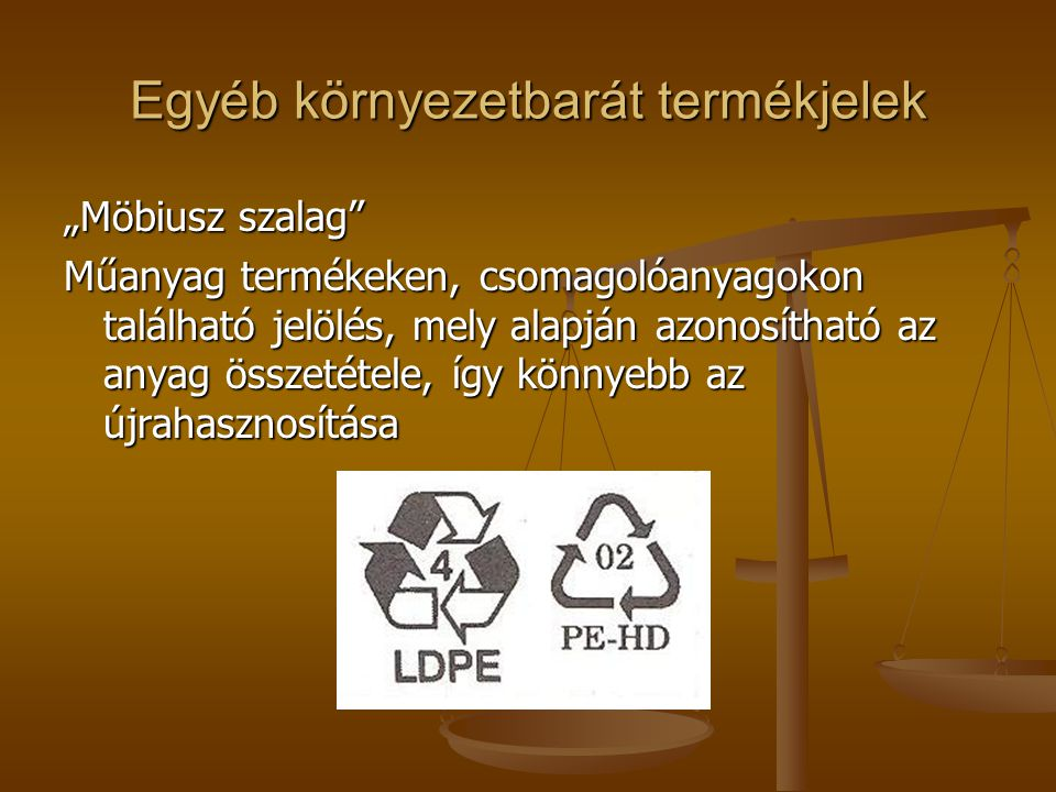 Egyéb környezetbarát termékjelek