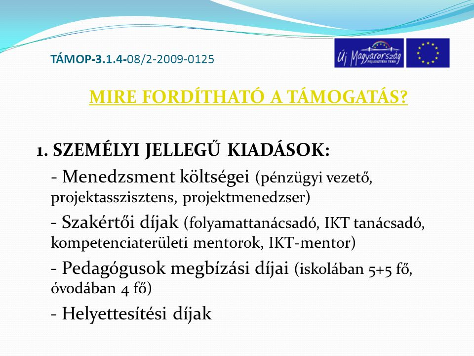 TÁMOP-3.1.4-08/2-2009-0125