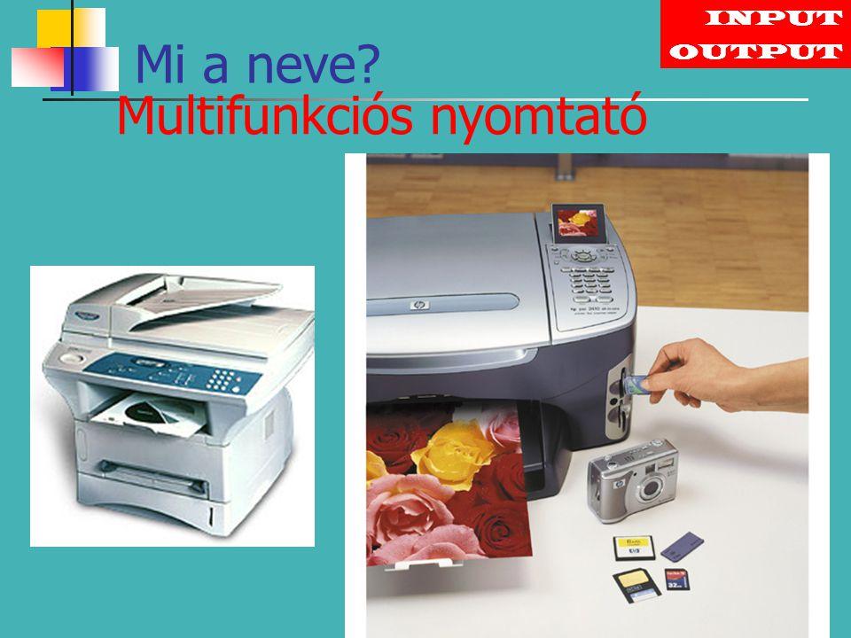 Multifunkciós nyomtató