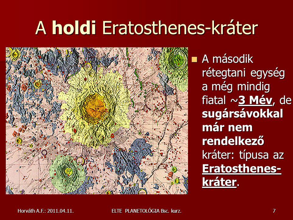 A holdi Eratosthenes-kráter