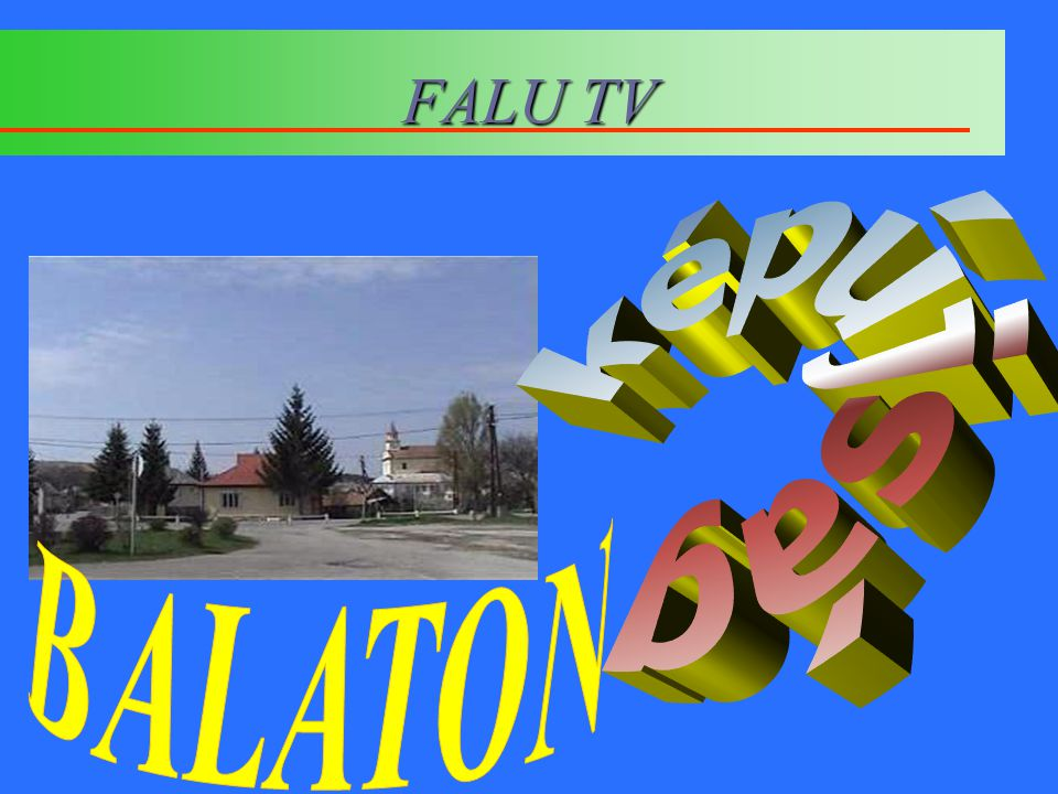 FALU TV képújság BALATON
