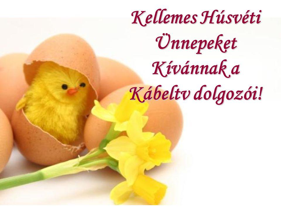 Kellemes Húsvéti Ünnepeket Kívánnak a Kábeltv dolgozói!