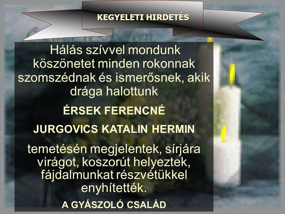 JURGOVICS KATALIN HERMIN