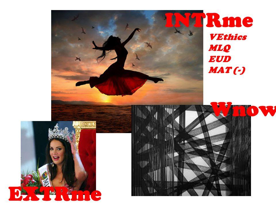INTRme VEthics MLQ EUD MAT (-) Wnow EXTRme