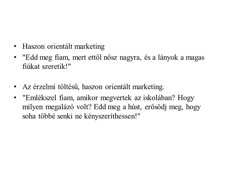 Haszon orientált marketing
