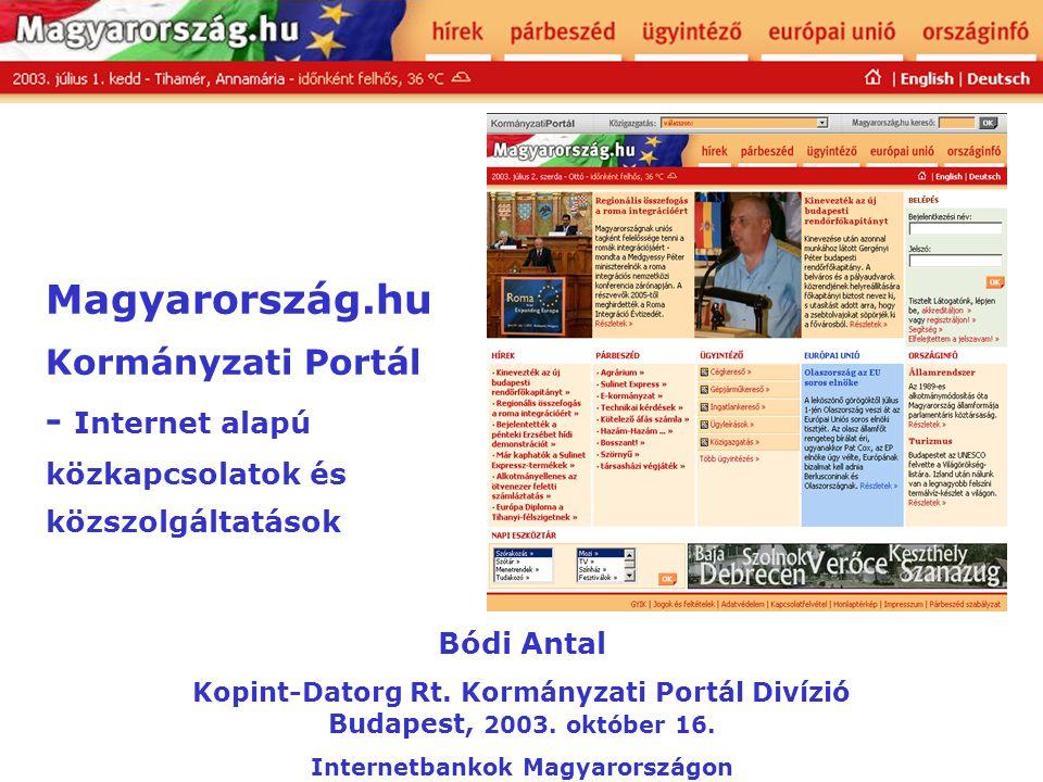 Internetbankok Magyarországon