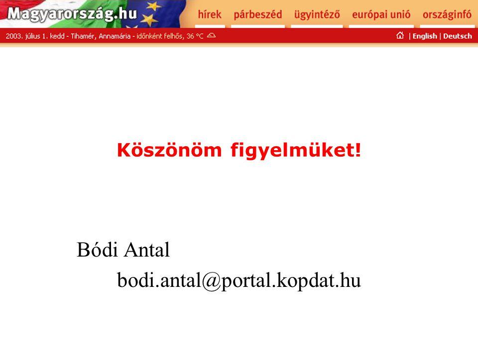 Bódi Antal bodi.antal@portal.kopdat.hu
